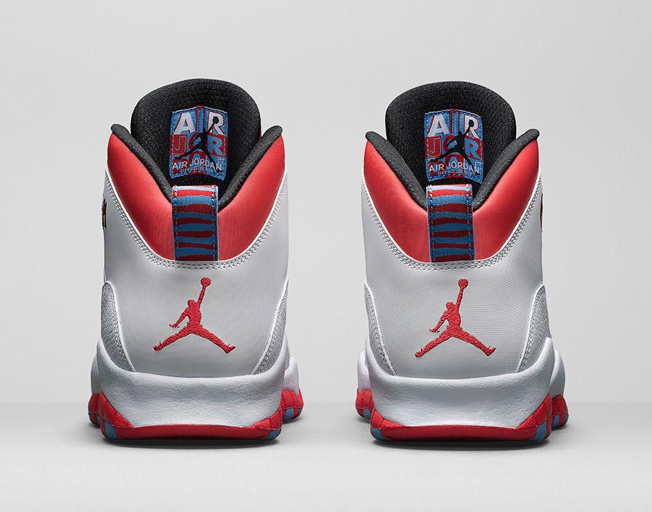klasyczne dopasowanie niższa cena z gładki Get an Official Look at the Air Jordan 10 Retro 'Chicago' 3 ...