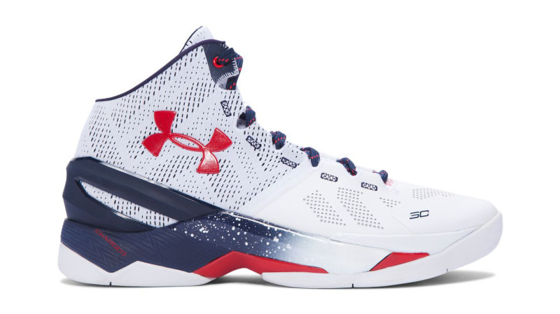 Get an Official Look at the Under Armour Curry 2 'USA' 1