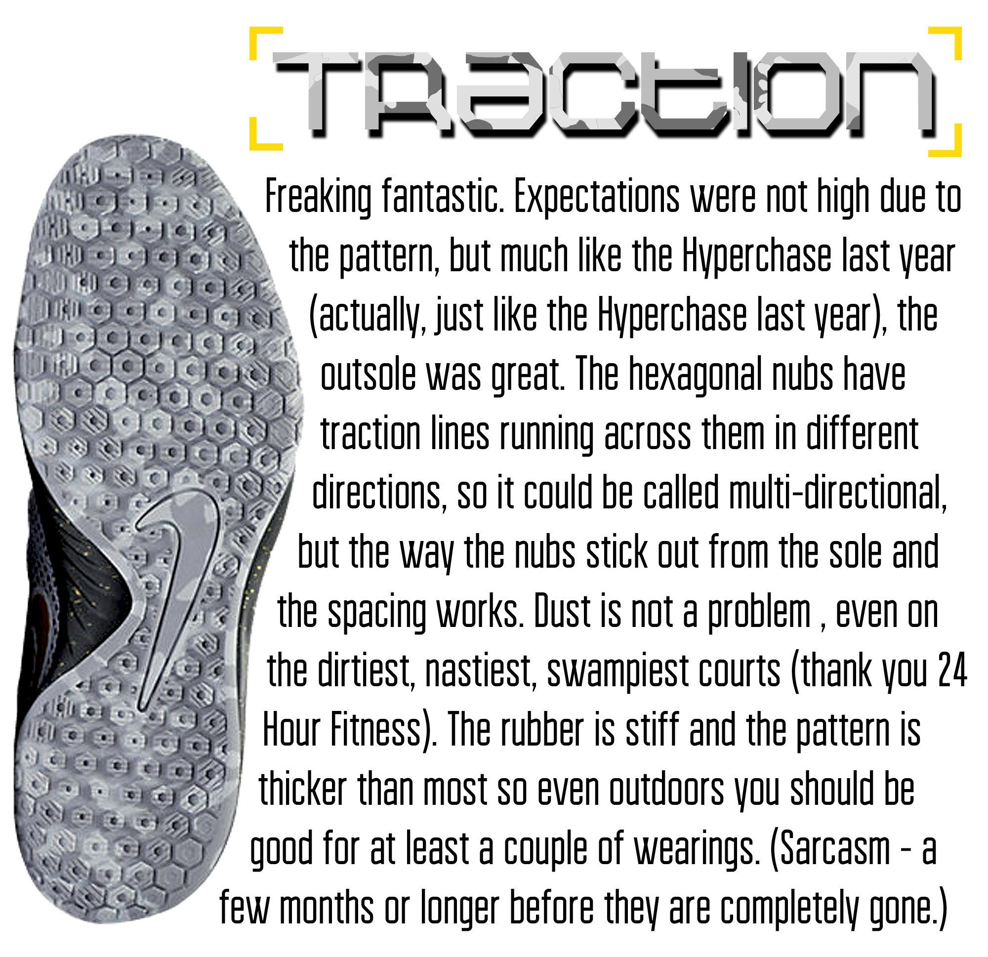personalizzate ricco e magnifico a piedi scatti di Nike Hyperlive Performance Review - WearTesters