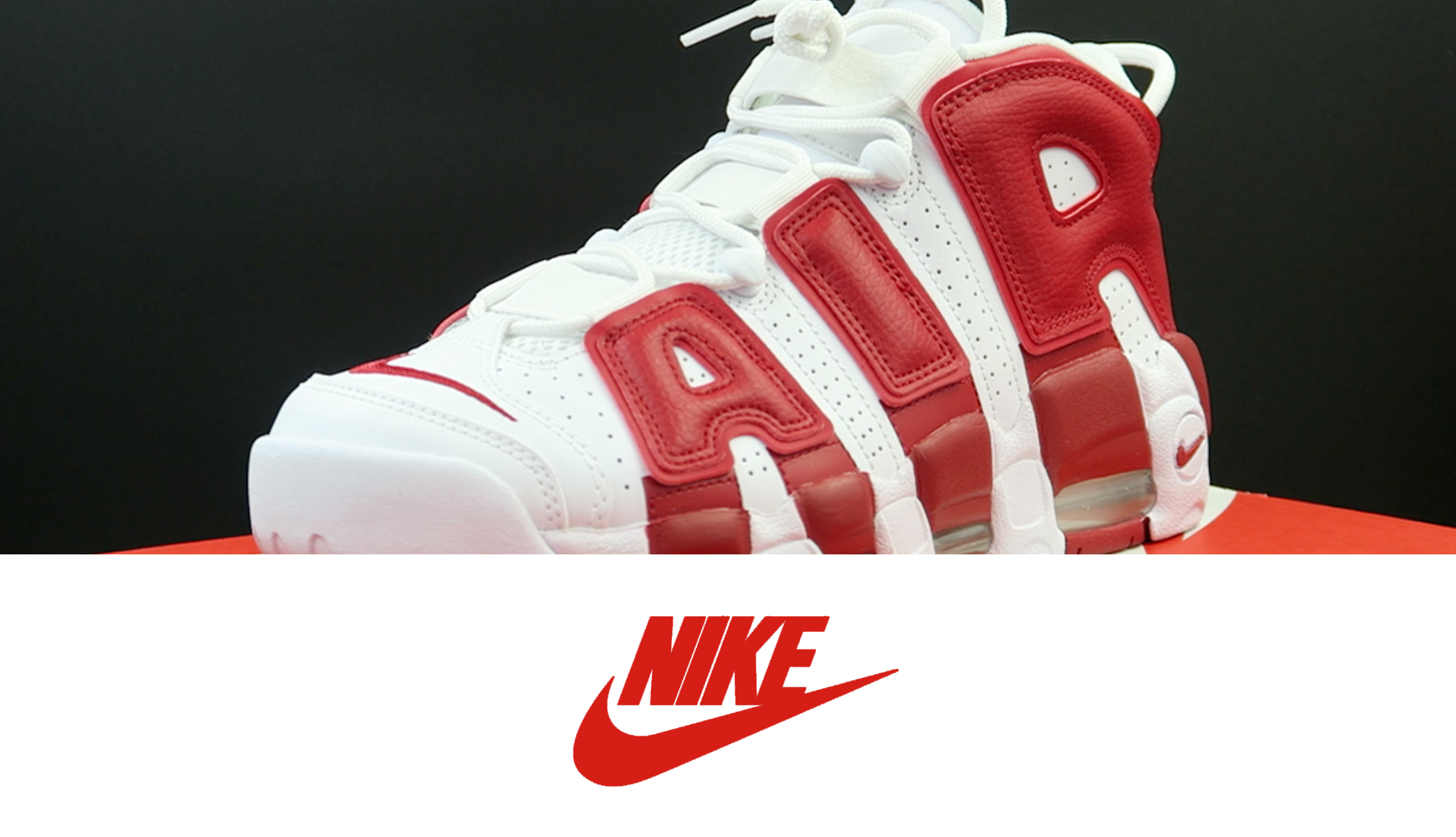 Nike Air More Uptempo White: Gym Red | Detailed Look and Review