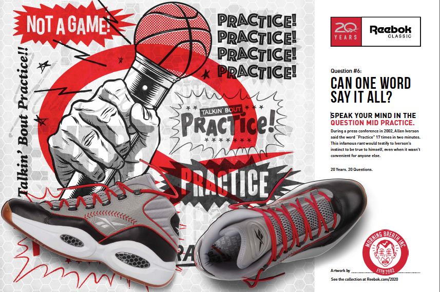 Reebok question practice 19