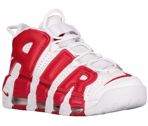 The Nike Air More Uptempo White Gym Red is Available Now 1