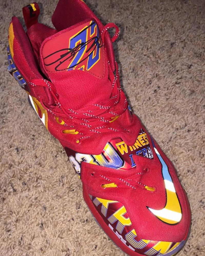 The Nike LeBron 13 'EYBL' Has Surfaced-3