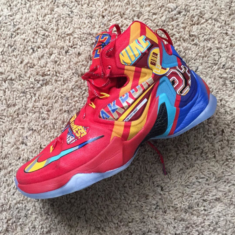 The Nike LeBron 13 'EYBL' Has Surfaced-4