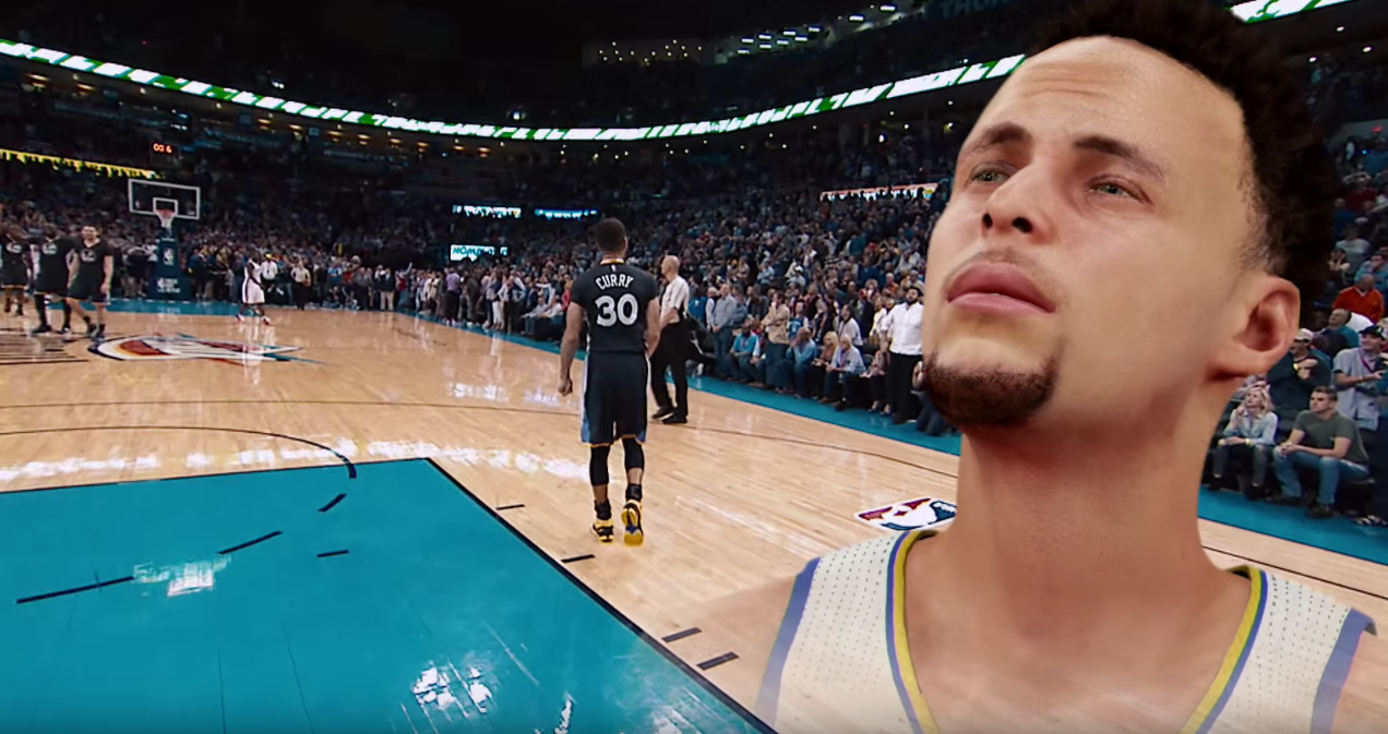 The Video Game Steph Curry Will Actually Be As Good as Real Life Steph Curry