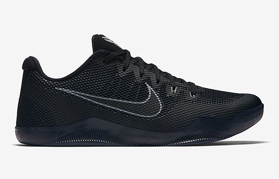 Check Out the Nike Kobe 11 EM in Triple Black - 1