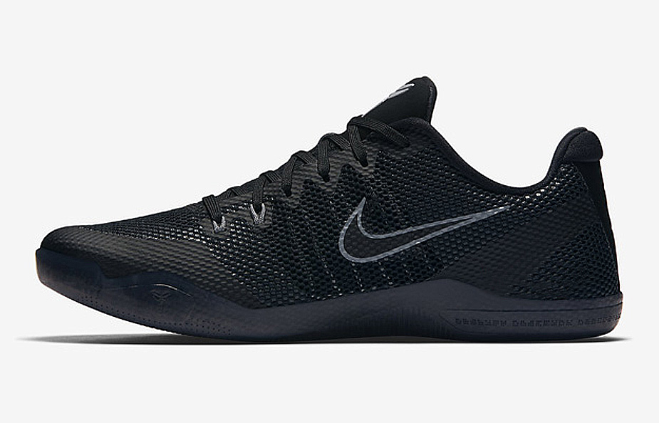 Check Out the Nike Kobe 11 EM in Triple Black - 2