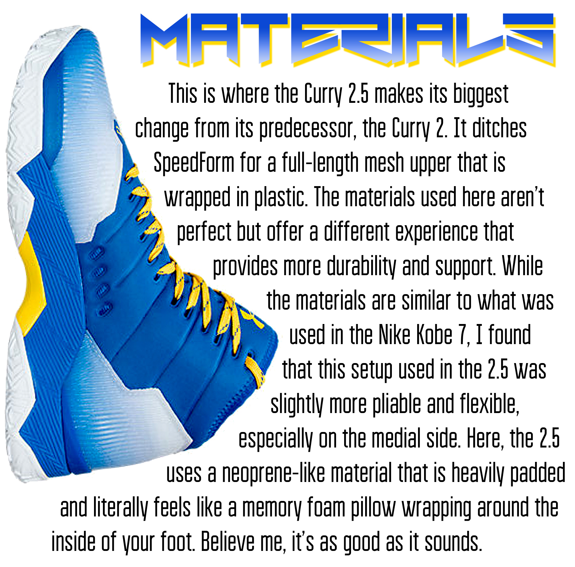 huge discount 267cd 4afbd Under Armour Curry 2.5 Performance Review - WearTesters