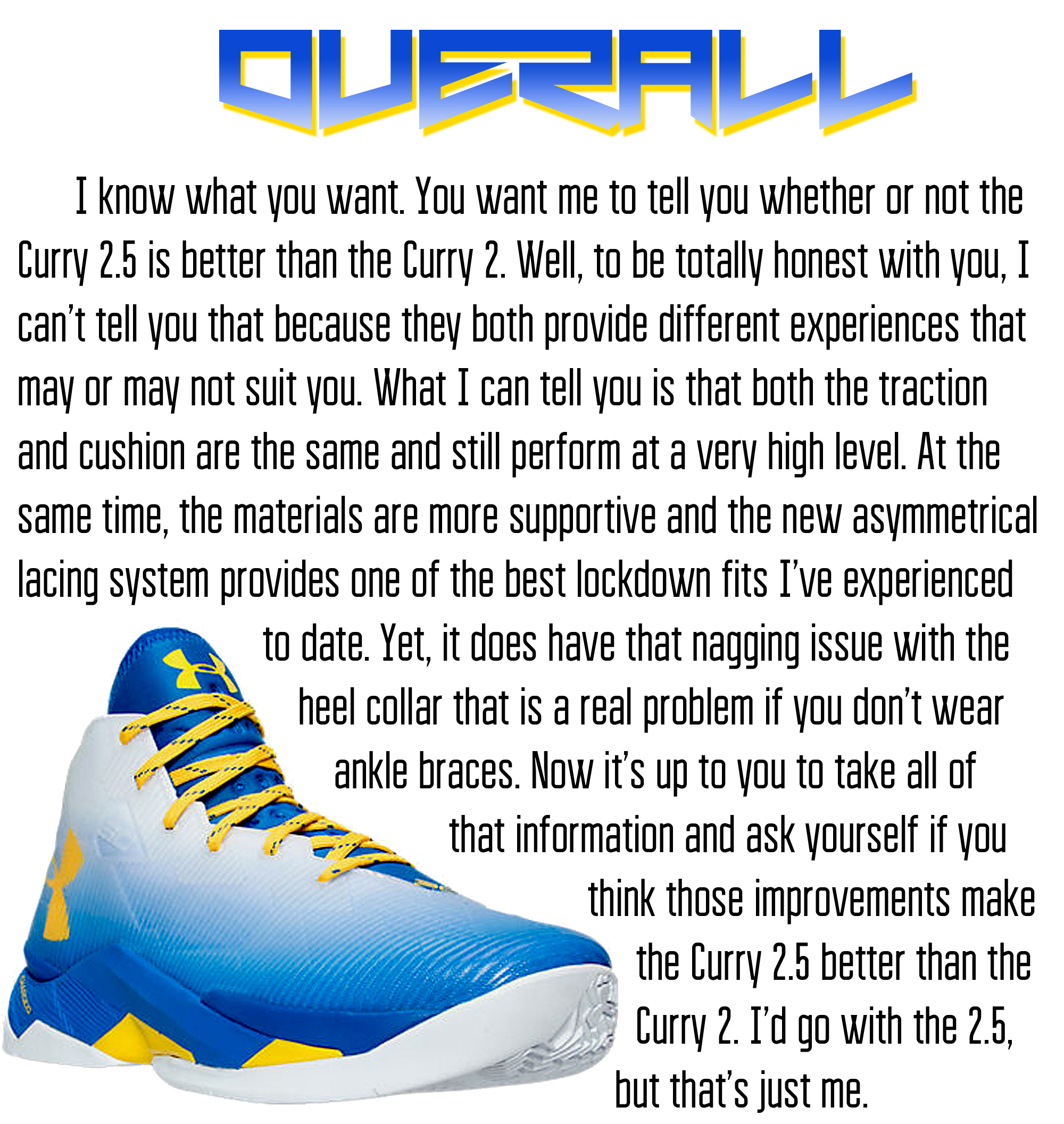 Curry 2.5 - Overall