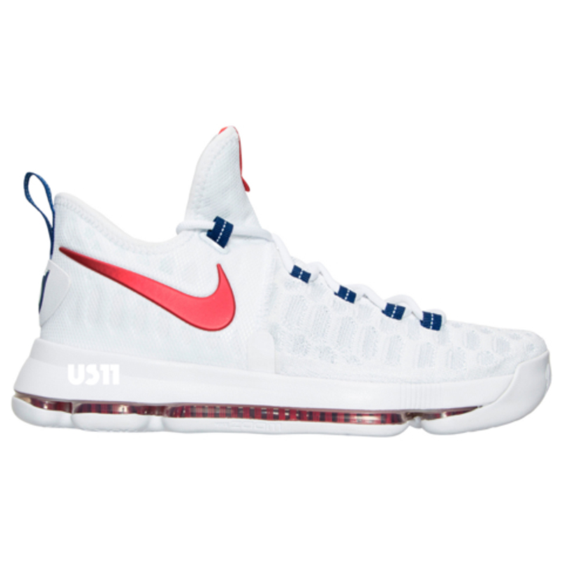 Get a Detailed Look at the Nike KD 9 in White University Red 2