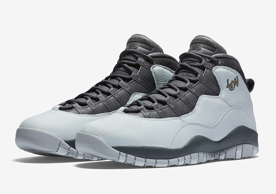 Get an Official Look at the Air Jordan 10 Retro 'London' 5