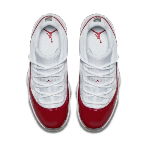 Get an Official Look at the Air Jordan 11 Retro Low in White Varsity Red 2