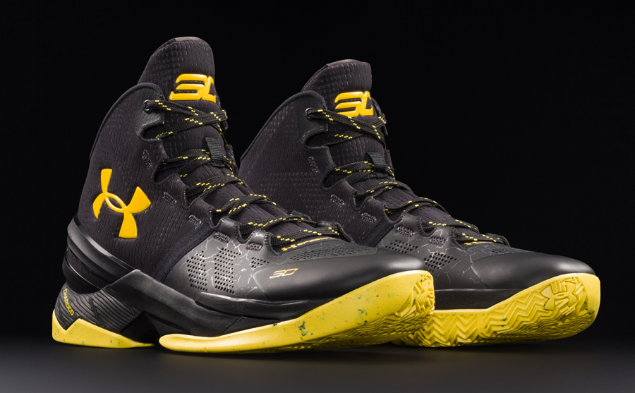 Get an Official Look at the Under Armour Curry 2 'Black Knight' 4