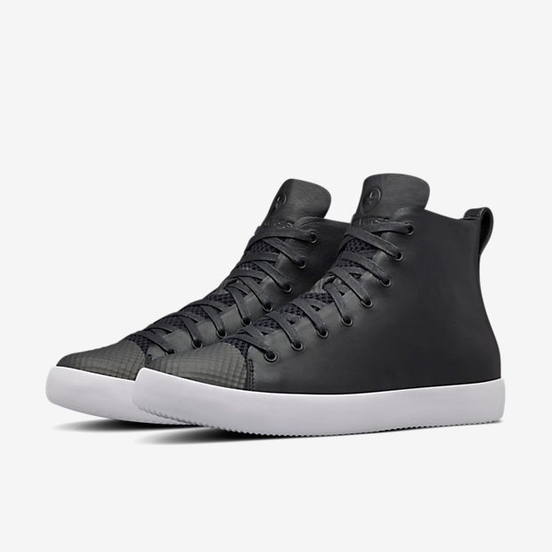 HTM CONVERSE ALL STAR LEATHER MODERN NIKELAB black