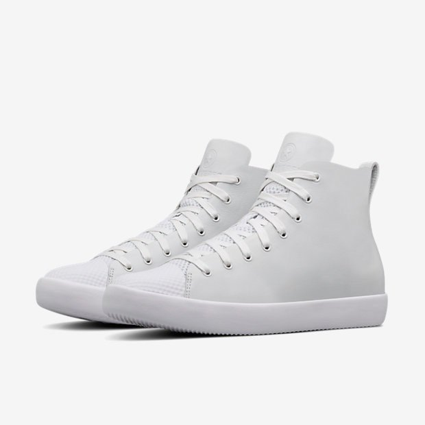 HTM CONVERSE ALL STAR LEATHER MODERN NIKELAB white