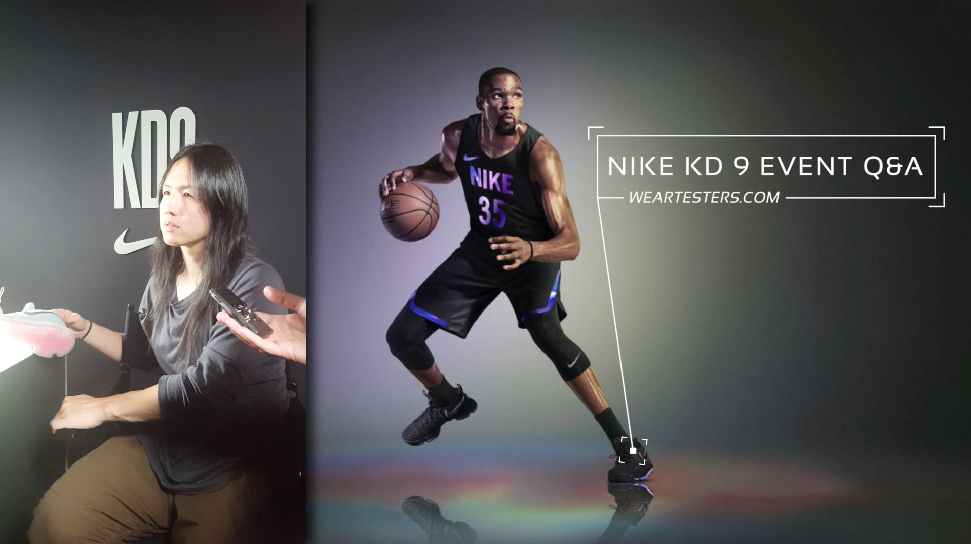 Interview the Nike KD 9 with Designer Leo Chang