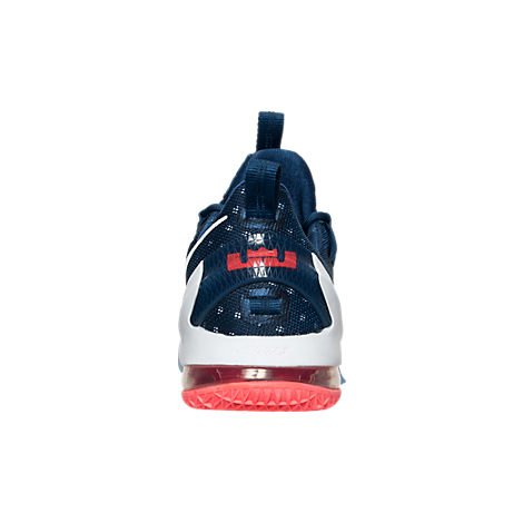 Nike LeBron 13 XIII Low USA blue red heel
