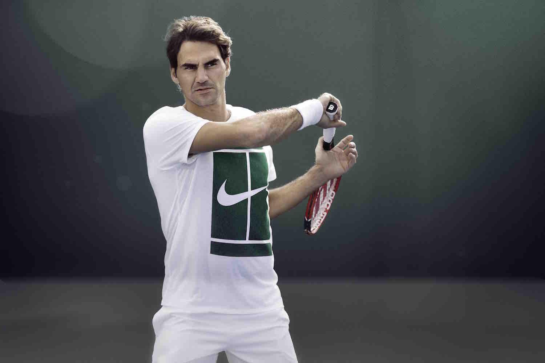 Roger Federer NikeCourt 1