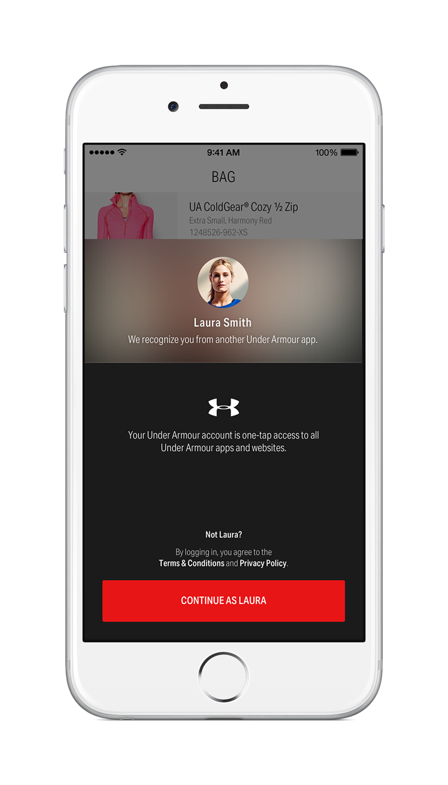 Under Armour Just Lanched the Brand's First Custom Shopping App Dubbed the UA Shop 3