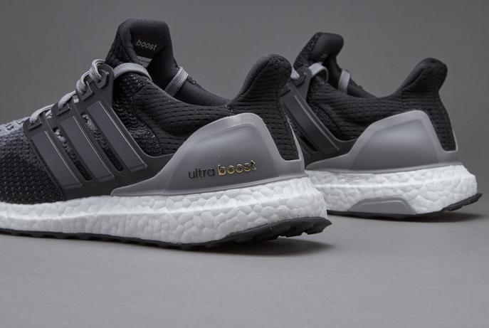 adidas Ultra Boost women's black grey