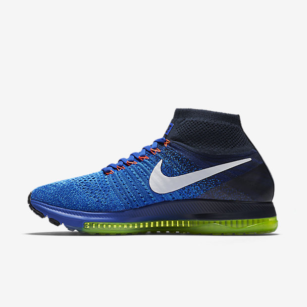 envío carro vacante  nike zoom all out flyknit blue 3 - WearTesters