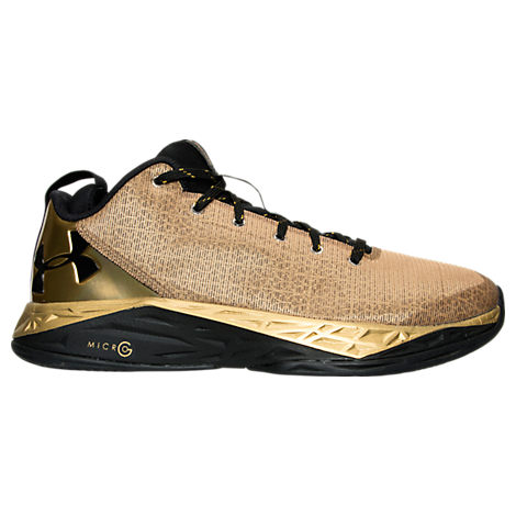 under armour fire shot low gold 7