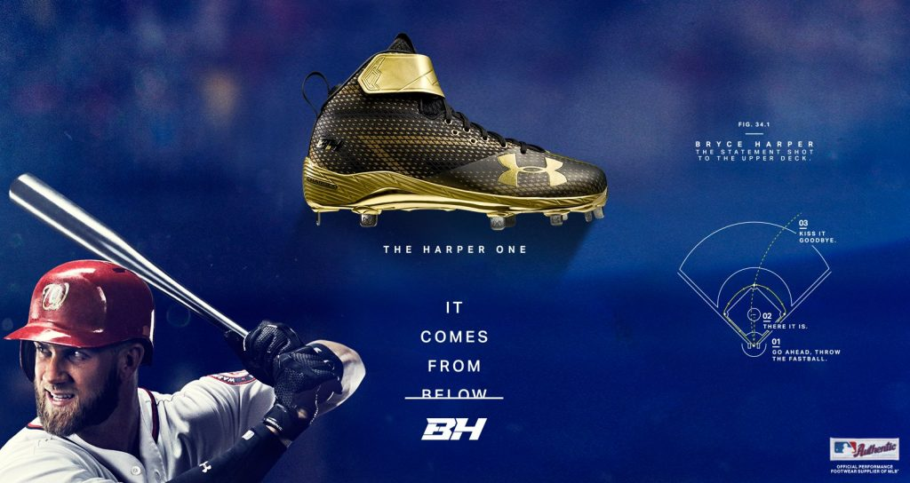 under armour harper one