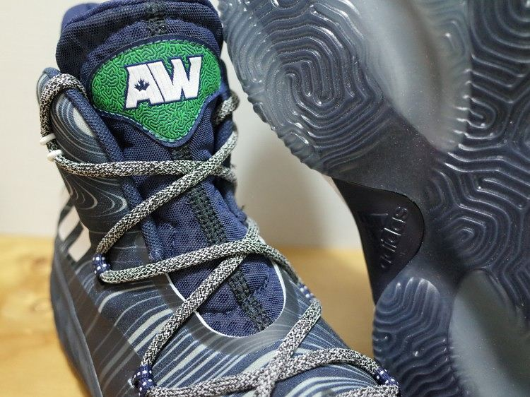 Adidas Crazy Explosive – Andrew Wiggins PE Away – Front Angle