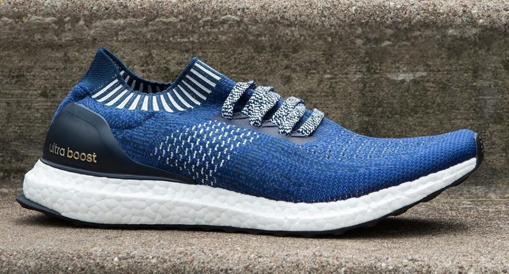 The adidas Ultra Boost Uncaged in Navy
