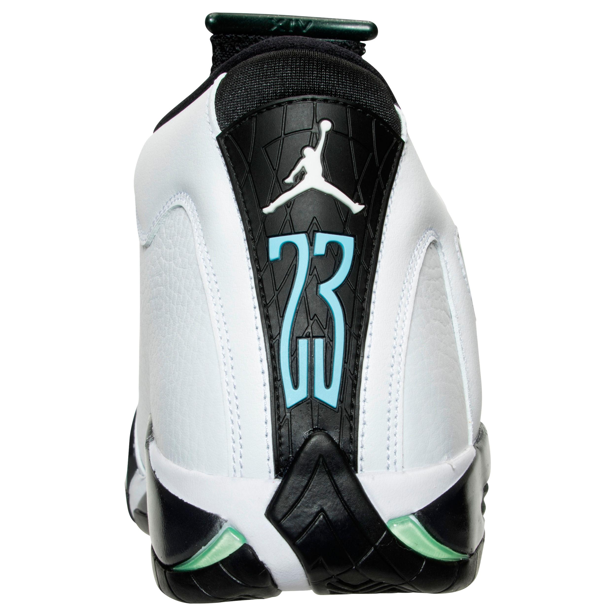 Air Jordan XIV Retro oxidized green 6