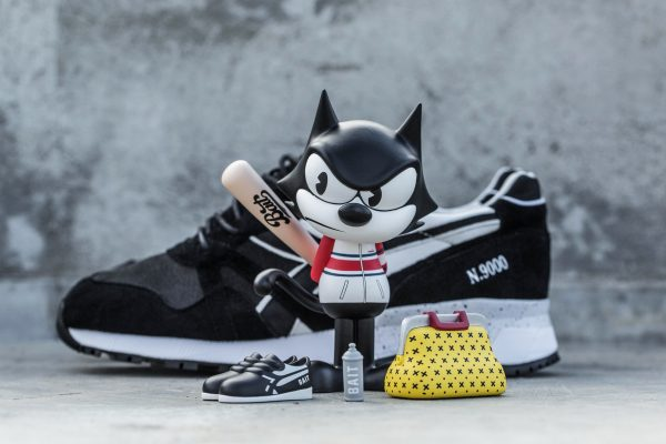 BAIT x Dreamworks x Diadora N9000 Felix the Cat 3