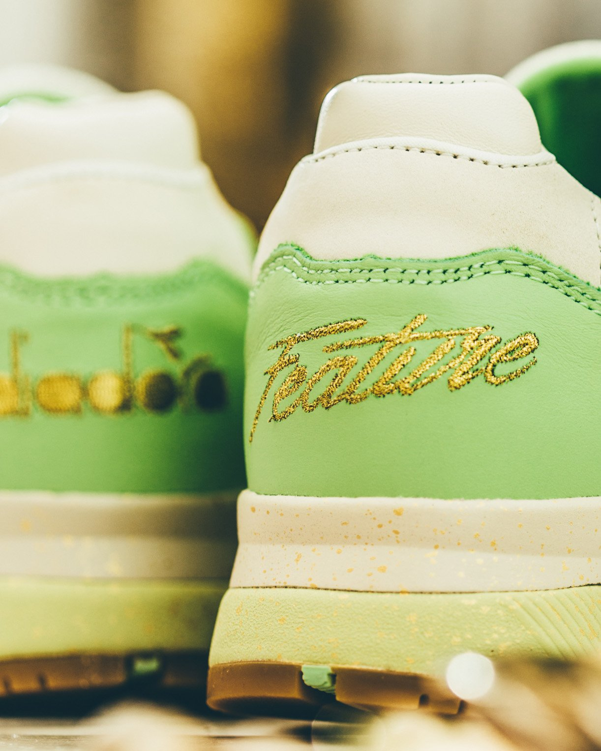 Feature x Diadora N.9000 Pistacchio 3