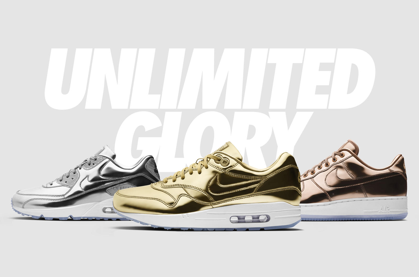 Five Models Aim for 'Unlimited Glory' on NikeiD-1