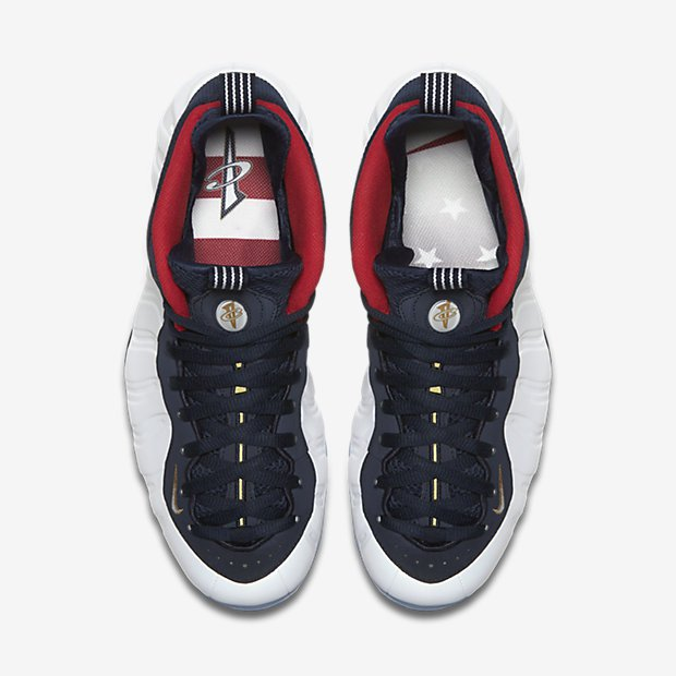 more photos ef397 5be05 The Nike Foamposite One 'USA' Drops Just in Time for the ...