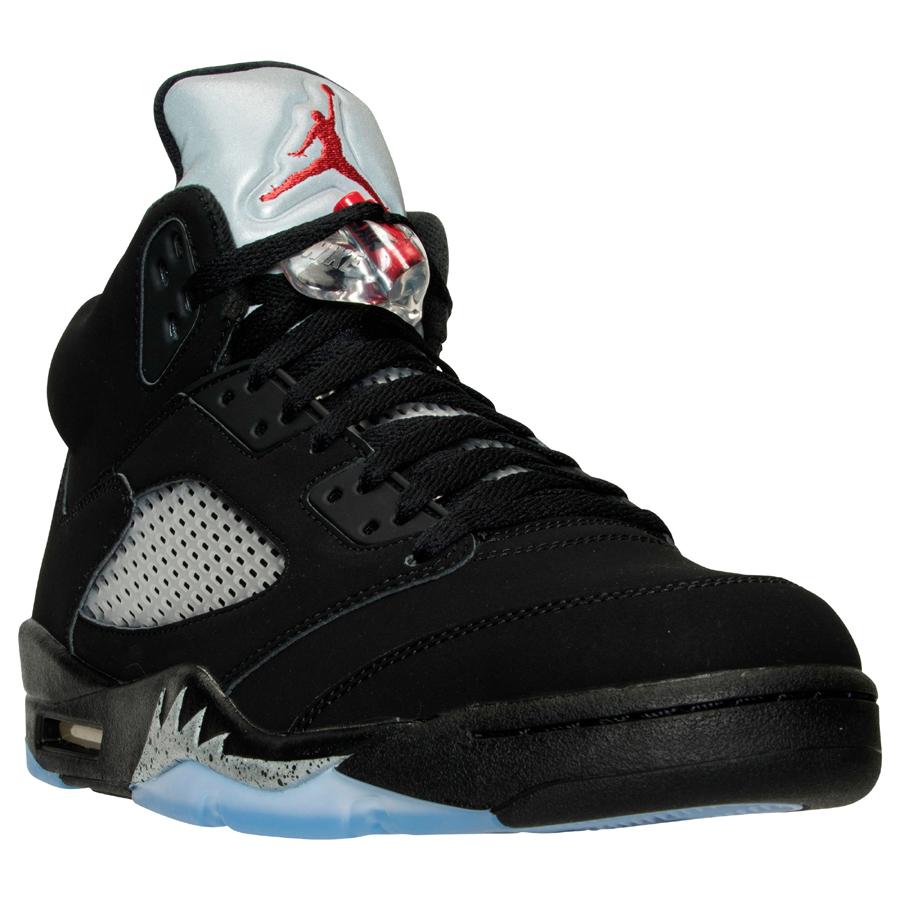 Get an Official Look at the Upcoming Air Jordan 5 Retro in Black Metallic Silver 1