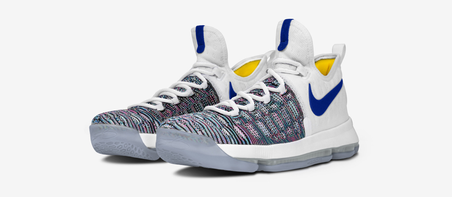 NIKEiD Offers the Nike KD 9 in DubNation Colors 15