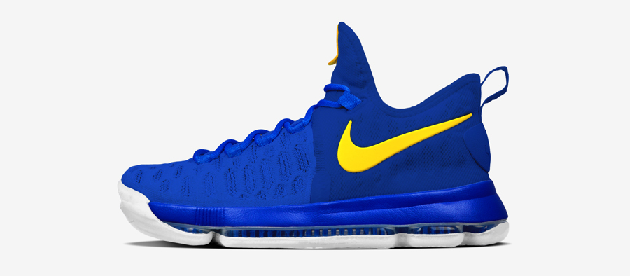 NIKEiD Offers the Nike KD 9 in DubNation Colors 7