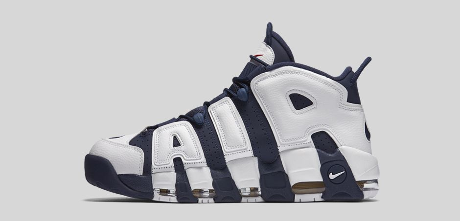 Nike Air More Uptempo USA - side view 2