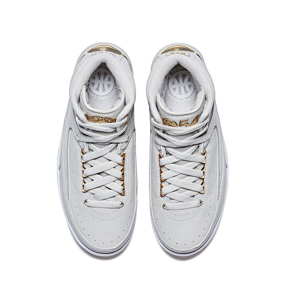 Nike X Quai 54 - Air Jordan 2 Retro Q54 Top View