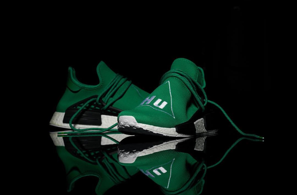 Pharrell x Adidas NMD Green 5