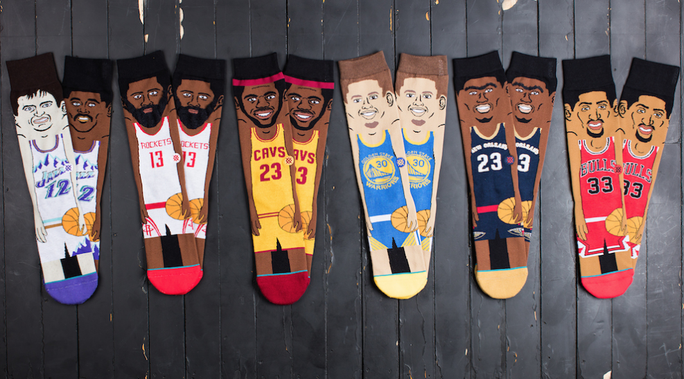 Stance Announces New NBA Cartoon Socks-1