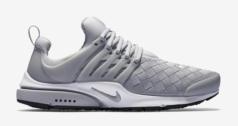 grey woven nike presto 13