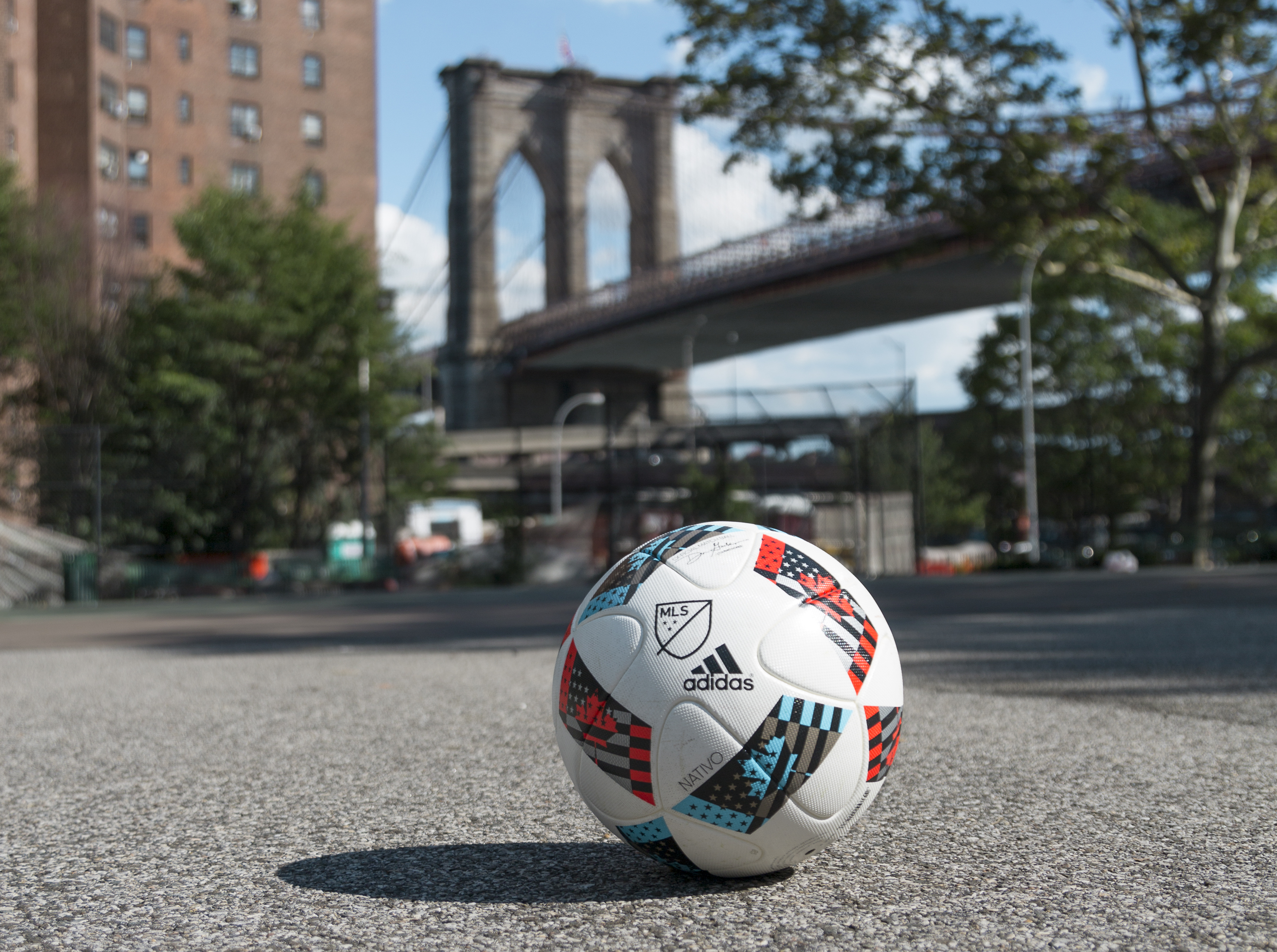 adidas 50 soccer fields NYC 2