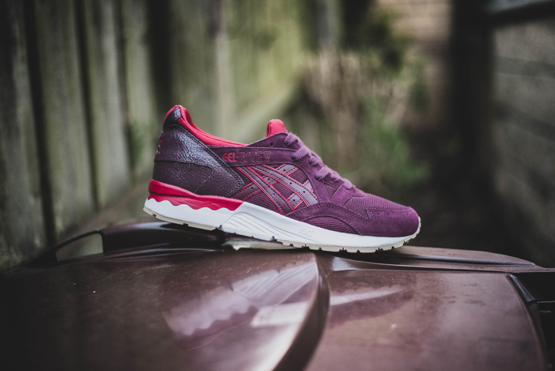 asics gel lyte V rioja red blue print 8 WearTesters