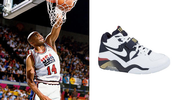 charles barkley wearing the air max 180 olympics