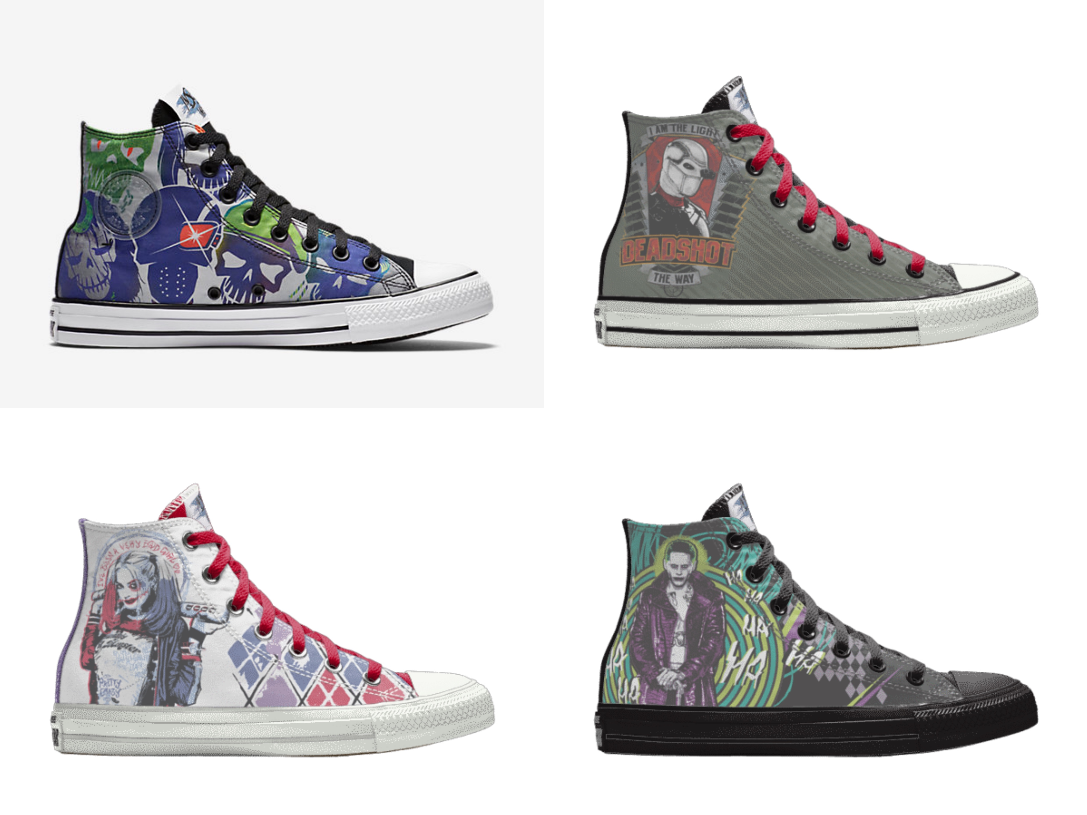 converse chuck taylor all-star suicide squad