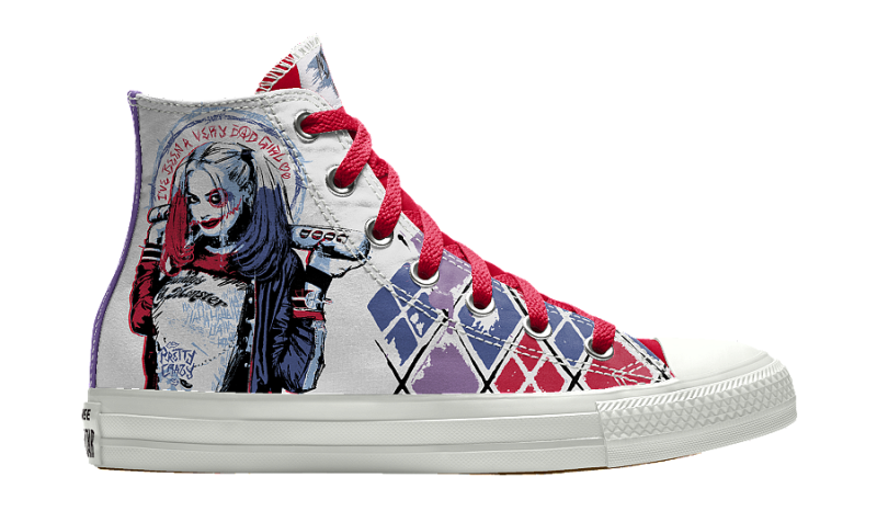 suicide squad converse harley quinn