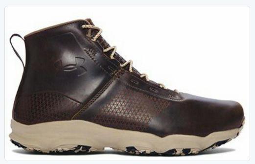 ua speedfit hike boot leather 1