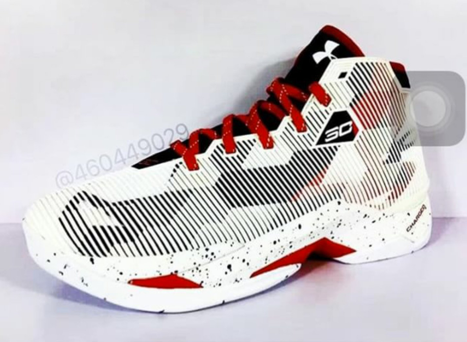under armour curry 2.5 USA home 1