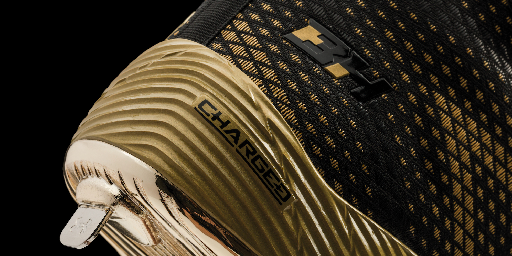 under armour harper one black gold 3